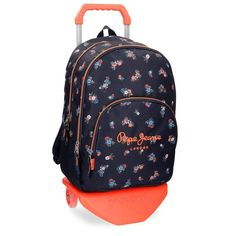 Pepe Jeans Sira Mochila Escolar, 44 cm, 30.98 litros, Azul: Amazon.es: Equipaje Fashion Backpack, Lunch Box, Backpacks, Bags, School, School Backpacks, Baggage, Blue Nails, Products