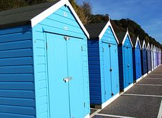 Bournemouth Beach Huts, England #travel #holidays (www.selectresortsholidays.com)