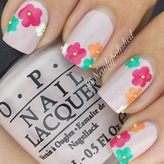 Top 17 Beauty Spring Nail Designs – New Famous Manicure Trend From Fashion Blog - DIY Craft (17)