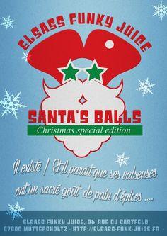 Vapoplans: -50% sur liquide Santa's Balls de Elsass Funky Jui...