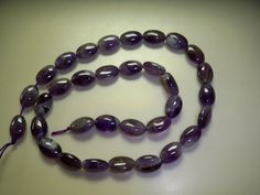 """Natural Amethyst Beads - Helps Addictions - One 16"""" Strand - By Elva: http://www.outbid.com/auctions/17692-supplies-for-creations#20"""