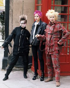 Vivienne Westwood on Punk, Politics, Fashion, and the Met Gala yeah, and she's got the best fucking suit ever on the right -- 1977!!