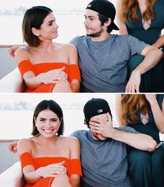 Most popular tags for this image include: teen wolf, dylan o'brien, shelley hennig, stalia and malia