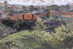 Antonín Slavíček - Day in June #painting #art #Czechia