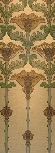 Sunflower- Aesthetic Interiors - Late Victorian Collection 1890-1910