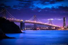 The Bay Bridge  in San Francisco!!! (GND Filter) by Jim Ross, via 500px