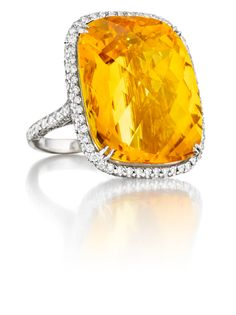 Couture Citrine Ring