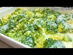 Vei iubi BROCCOLI dacă faci așa! Cea mai bună REȚETĂ cu BROCCOLI! CUM GĂTIM BROCCOLI OleseaSlavinski - YouTube Best Broccoli Recipe, Brocolli Recipes, How To Cook Broccoli, Vegetable Side Dishes, Vegetable Recipes, Vegetarian Recipes, Cooking Recipes, All Recipes Chicken, Easy Dinner Recipes