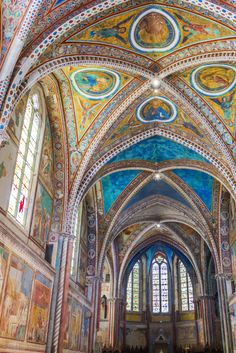 The vivid 13th century frescoes of the Basilica of Saint Francis are so beautiful that it's worth visiting Assisi, even if you're not one to put places of worship on your sightseeing to-do list.