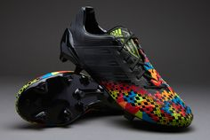 adidas Football Boots - adidas Predator LZ TRX FG SL - Firm Ground - Soccer Cleats - Black-Black-Solar Lime