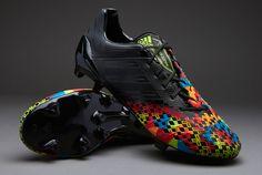 adidas Football Boots - adidas Predator LZ TRX FG SL - Firm Ground - Soccer Cleats - Black-Black-Solar Lime