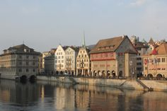 #Zurich_city #walking_by_the_river