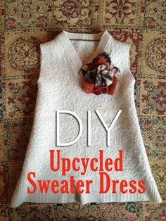 Upcycled Sweater Dress for Baby with Matching Headband {DIY Tutorial} » Ree Ree's Place