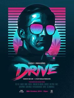 Drive poster (Nitro edition). James White/Signalnoise