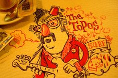 napkin illustration