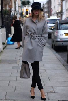 Moi je joue  , Borsalino in Hats, Max Mara in Coats, Jimmy Choo in Heels / Wedges, Prada in Bags
