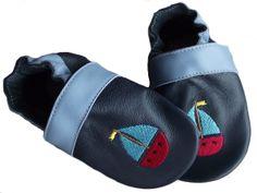 Vitorlásos kék Szofi puhatalpú cipő