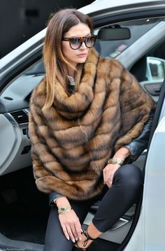 Russian Sable Fur Pullout