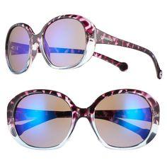 Converse Chuck Taylor Round Women's Sunglasses, Purple Size One size