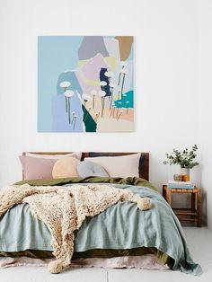 Leah Bartholomew - The Design Files Interior Inspiration, Room Inspiration, Home Bedroom, Bedroom Decor, Peaceful Bedroom, Dream Bedroom, Home Interior, Interior Design, Interior Styling