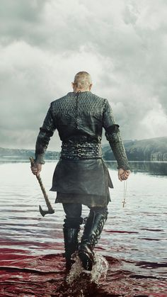 Lothbrok Vikings' Poster by mcache Ragnar Lothbrok Vikings PosterRagnar Lothbrok Vikings Poster Ragnar Lothbrok Vikings, Ragnar Lothbrook, Ragnar Lothbrok Quotes, Wallpaper Vikings, Viking Wallpaper, Vikings Tv Series, Vikings Tv Show, Vikings Fancy Dress, Viking Pictures