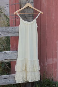 Classy vs Sassy Slip Dress-Cream