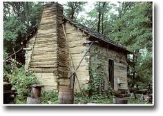 Lincoln's boyhood home in Spencer  County