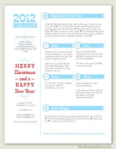 year in review newsletter template in pdf for print newsflash