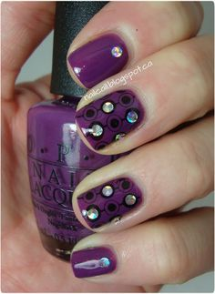Purple, Silver & Stamping