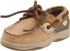 Sperry Top-Sider Bluefish Boat Shoe (Toddler/Little Kid) Sperry Top-Sider. $30.99. Removable molded footbed with heel cup for extra comfort. Leather-and-fabric. Manmade sole