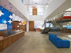 55 inspirational office receptions lobbies and entryways office snapshots advertising agency office szukaj google