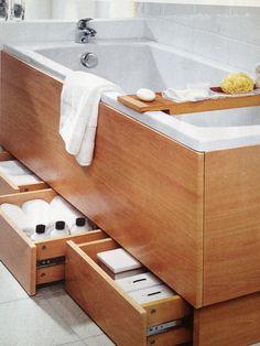 Bathroom Storage #Bathroom #bathroomstorage #drawers #bathroomdrawers #towelstorage