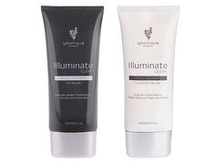 Illuminate Clean, made in the USA, is brand new and formulated for normal to dry skin, or for people with very sensitive skin. Containing superleaf extracts, Ginkgo biloba, and horse chestnut, Clean's more mild formula is still powerful enough to gently cleanse your sensitive skin.