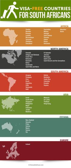 Tired of paying piles of cash to get into a country that will boot you out in 30 days? Here's a list of countries with more manners. List Of Countries, Free Travel, Travel Tips, Close To My Heart, Wanderlust Travel, Holiday Destinations, Embedded Image Permalink, Africans, Infographic