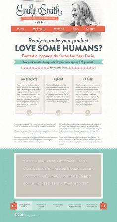 Emily Smith Portfolio - Best website, web design inspiration showcase