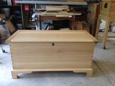Blanket Chest, white oak throughout. I sometimes mix mineral spirits with poly and . Wooden Toy Chest, Wood Chest, Wooden Toys, Amazon Free Shipping, Trunks And Chests, Blanket Chest, Toy Boxes, Furniture Making, Storage Chest