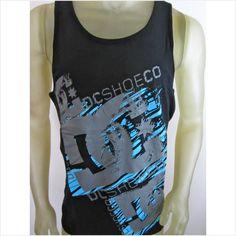 NWT DC Shoes Co tank top Dyrdek tee shirt black size MEDIUM men's skate surf