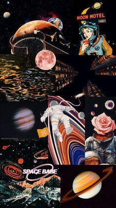 lockscreens — ❁ space/astronomy lockscreens❁ like if you. Iphone Wallpaper Nasa, Trippy Wallpaper, Wallpaper Space, Homescreen Wallpaper, Iphone Wallpaper Tumblr Aesthetic, Black Aesthetic Wallpaper, Retro Wallpaper, Galaxy Wallpaper, Cartoon Wallpaper