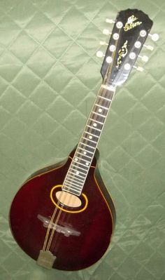 Estate Vintage The Gibson Mandolin A4 or A3 ? 1915 - 1920's? Beautiful Color AND #Gibson