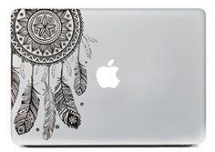 Adorable boho laptop sticker.