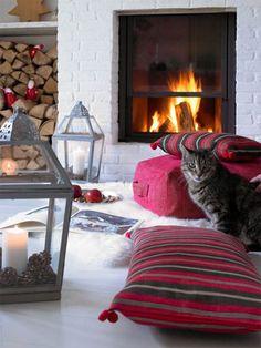 I like this fireplace!
