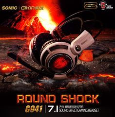 Somic G941 Professional Gaming Headset 7.1 Surround Sound Vibration Function USB Gaming Headphone for PC Gamer   Read more at Electronic Pro Market : http://www.etproma.com/products/somic-g941-professional-gaming-headset-7-1-surround-sound-vibration-function-usb-gaming-headphone-for-pc-gamer/   SOMIC G941  Game Headset Vibration Function and 7.1 Surround Sound Professional Gaming Headphone    Feature:  1. High quality driver unit provides high,medium and low friquency aud