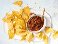 This roasted tomato-mint salsa is utterly addictive. #recipe
