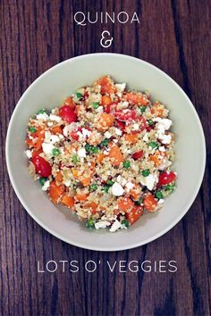 QUINOAveggies Simple quinoa recipe