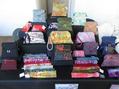Janath Vintage Kimono Handbags and Accessories, Kauai Island Crafter's Fair, St. Raphael's Church