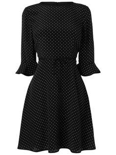 Buy Boutique by Jaeger Edie Skater Dress, Black online at JohnLewis.com - John Lewis