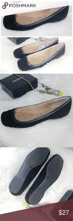 Jessica Simpson Ballet Flats Black Velvet Shoe 7.5 New from Nordstrom's Jessica Simpson gorgeous of black ballet flats they are velvety smooth still has the tag inside.  . Size 7.5  . Brand  Jessica Simpson   . Condition Nee  . Color Black cream  . Bundle & SAVE 25% off 🍍  . Reasonable offers welcome😃  No additional shipping charge when you purchase more from my closet   Every purchase will be packed with Care & a Special FREE GIFT 🎁   🍍 25% OFF on bundles   Inventory # 219 Jessica…