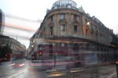London Financial District in motion. Photography by Scott Kish