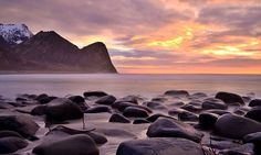 Unstad Lofoten, Norway, Earth, Mountains, Places, Water, Travel, Outdoor, Gripe Water