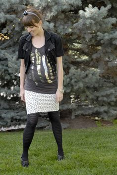 Maternity Skirt Tutorial - better get started before my baby bump gets too big